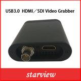 Scheda di video bloccaggio di USB3.0 HDMI/SDI per Windows, ciclo di Linux HD attraverso l'azionamento libero UV-C del gioco 1080P 60fps dell'arraffone del Dongle