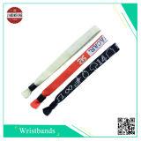 Populärer fördernder gesponnener Wristband für einmal verwendet