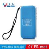 Портативный беспроволочный миниый диктор Bluetooth с Powerbank и электрофонарем
