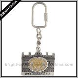 Esmalte dourado Keychain da coroa PRO para o presente do negócio (BYH-10693)