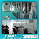 Projeto da produção da alimentação do Tilapia da automatização completa 5t/H