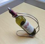 Casa simple usar sostenedor del vino del cromo
