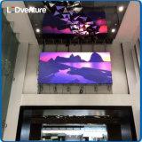 解決を広告するための屋内フルカラーの大きいLEDスクリーンの壁
