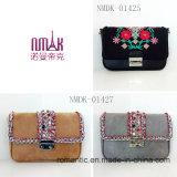 PU方法女性小型ハンドバッグの革ウェビング袋(NMDK-01427)