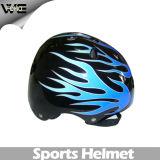 Demi de protection de patinage protectrice de casque de vélo de sports