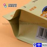 Sacchetto laterale di imballaggio di plastica del riso del rinforzo