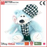 Urso macio do brinquedo de Scarf&Hat do desgaste