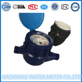 Mètre d'eau en plastique froid sec multi de corps de mètre d'eau de gicleur