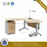 Pé L mesa do metal da mobília de escritório de escritório executivo da forma (NS-NW102)
