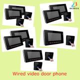 Видимый дверной звонок телефона двери внутренной связи с большим экраном касания 9 дюймов с 1 монитором камеры 1
