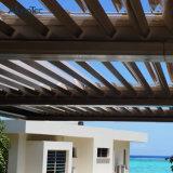 Электрическая алюминиевая крышка Shading крыши жалюзиего с датчиком ветра дождя