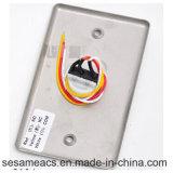 ステンレス鋼NC COMのドアボタンの青いバックライト無し(SB4HR)