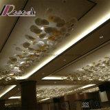 Decoratief Glas die de Gebroken Lamp van de Tegenhanger van de Kleur voor Restaurant hangen