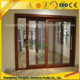 Marco de aluminio de aluminio de la protuberancia de encargo para Windows y las puertas