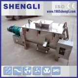 Misturador horizontal da fita do pó elétrico automático