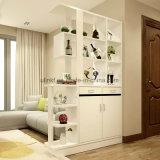 A mobília de madeira da mobília luxuosa projeta o gabinete de canto do estilo antigo chinês (UL-WR027)