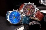 Relojes del cuarzo del movimiento del acero inoxidable de la cubierta de los hombres originales de las mujeres