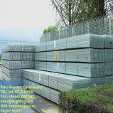 Reja de acero galvanizada de los paneles comunes para las plataformas