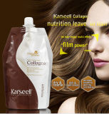 Karseell 500mlのクリーム色のコラーゲン修理毛マスク