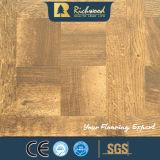 грецкий орех текстуры Woodgrain AC4 12.3mm навощил окаимленный настил Laminbate