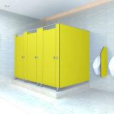 Compartimento estratificado do toalete público da resina HPL