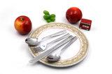 Vaisselle de cadeau de métier de vaisselle d'acier inoxydable de couteau et de cuillère 304 de fourche