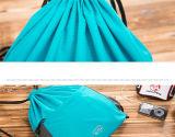 Nylon мешки Backpack гимнастики Drawstring для людей и девушок (73)