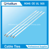 Связь кабеля замка колючки материального трапа нержавеющей стали 304 одиночная в зоне электричества