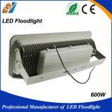Luz de inundación estrecha impermeable al aire libre del ángulo 600W LED de la haba de la buena calidad