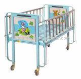 AG-CB003 Wholesale Factory Prix direct Metal Medical Manual Children Bed