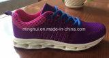 El hombre respirable de Flyknit de la nueva manera calza los zapatos del deporte