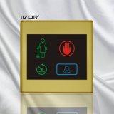 El panel al aire libre del sistema del timbre del hotel en el marco plástico del esquema (SK-dB2300S4)