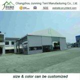 Barraca de alumínio do armazém de armazenamento da estrutura com parede contínua ou parede do PVC (porta)