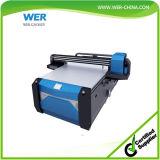 플라스틱 그리고 목제 인쇄를 위한 고품질 7feet*10feet 큰 체재 UV 평상형 트레일러 인쇄 기계