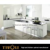 Светлые и темные блоки кухни с вверх-Складывая дверью для шкафа стены Tivo-0240h