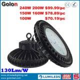 중국제 공급자 고품질 130lm/W 높은 만 LED 산업 빛 5 년 보장 150W