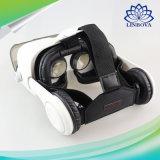 Vetri stereo di Vr di realtà virtuale del cartone del contenitore 3D di cuffia avricolare per il telefono mobile 4-6'