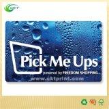 3개의 꼬리표 (CKT- PC-003)를 가진 플라스틱 선전용 카드