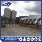 Maison de volaille et élevage de volaille / ferme de volaille au Kenya avec structure en acier