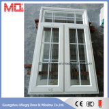 Fenêtre à charnière en alliage d'aluminium de haute qualité pour la vente