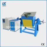 horno de la fusión del metal de la inducción de 70kw IGBT para la fusión del oro y de aluminio