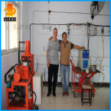30kw 강철 구리 Alumuium 녹는 유도 가열 녹는 기계
