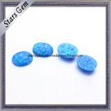 진한 파란색 단백석 돌 합성 단백석 도매의 가격