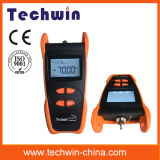 Probador óptico de mano Techwin Tw3208e Medidor óptico de energía óptico