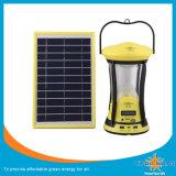 Carregador recarregável do telefone móvel da lanterna da energia solar