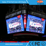 P7.62 pantalla fija de interior a todo color del baloncesto LED para el estadio