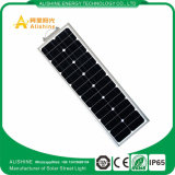2017 luz de rua solar controlada projeto de 40W 12V 27A