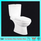 Keramisches zweiteiliges Toiletten-Set für Badezimmer