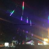 dekoratives LED Meteor-Licht der 70cm Weiß-Farben-