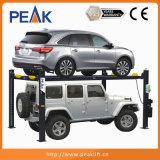 подъем стоянкы автомобилей автомобиля емкости 9000lbs гидровлический двойной (409-P)